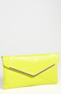 127df6e439df Expressions NYC Faux Leather Envelope Clutch available at  Nordstrom  Envelope Clutch