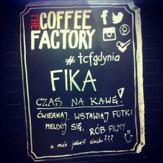 The Coffee Factory board - #Facebook #Twitter #Foursquare #Pinterest #Instagram  #tcfgdynia #gdynia #socialmedia #restaurant #cafe #kawiarnia