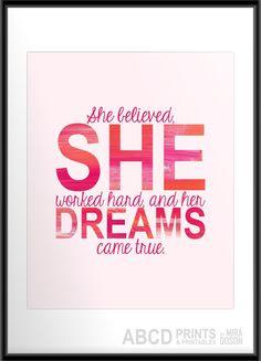 Inspirational quote print  #Quote #Empower #Inspiration- popculturez.com