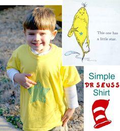 Dr Seuss Shirt for Kids!