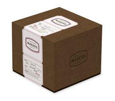 Chocolate packaging by John Kendall, via Behance