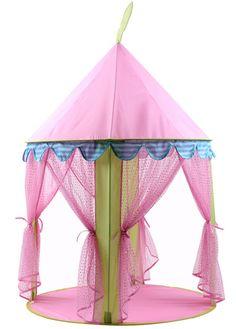 Kinder Zelt Indoor Klapp große rosa Prinzessin Zelt Haus Ozean Ball Pool-Spiel