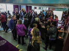 Fans from around the world arrive for Celebration 2017 at Prince's Paisley Park in Chanhassen, MN.  [Photo credit: Paisley Park Studios / Steve Parke]