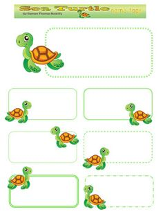 name cards for kids 1 teaching ideas pinterest free printable