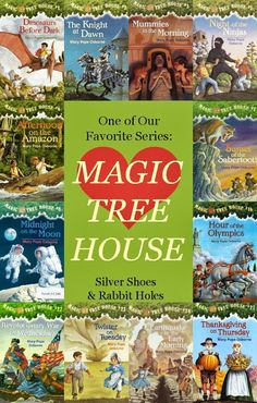 Silver Shoes & Rabbit Holes: Magic Tree House Books