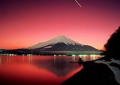 Mount Fuji, Japan (Mom's been here; I'm so jealous). :)