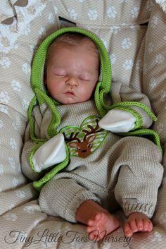 Reborn Prototype #1 Baby Doll LEVI by Heike Kolpin Conny Burke