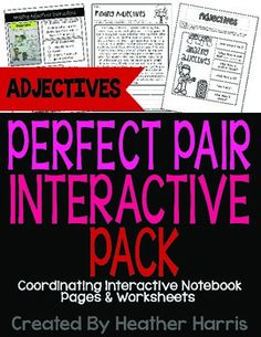 Adjectives Interactive Pack