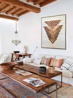 Modern Southwest Decor, Southwestern Home, Southwestern Decorating, Southwest Bedroom, Native American Decor, Native American Bedroom, American Indian Decor, American Art, Boho Living Room