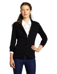Tart Collections Women's Essential Terry Blazer / Kaylie Solid French Terry Blazer