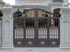 guangdong dingshen industrial co. Tor Design, Gate Design, Window Design, Driveway Entrance, Entrance Gates, Grand Entrance, Bungalow Haus Design, House Design, Aluminium Gates