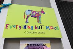 Everything but Match Concept Store, San Juan, Puerto Rico.Shop for Accessories and Art Made