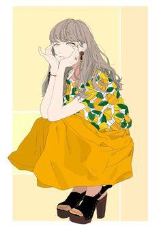 New post on thepurpleinternetprincess Manga Girl, Anime Art Girl, Manga Anime, Comics Illustration, Illustration Girl, Pretty Art, Cute Art, Character Art, Character Design
