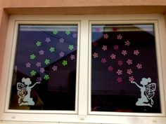 Diy For Kids, Crafts For Kids, Diy And Crafts, Paper Crafts, Spring School, Gnome House, Classroom Door, School Decorations, Window Art