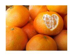 Orange Heart by on DeviantArt