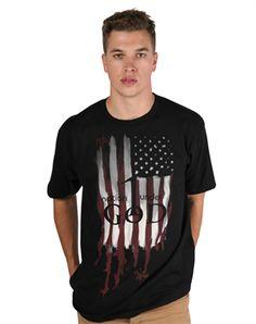 One Nation under God - Christian Mens Shirts for $14.99 | C28.com