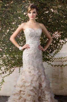 Gorgeous sweetheart wedding dresses 2012 - Shinedresses.com - maybe slightly looser ruffles, more streamer like