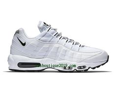 separation shoes 37a54 4a58e Nike Air Max 95 Chaussures Officiel Basket 2018 Pas Cher Pour Homme Blanc  Noir 609048 109-
