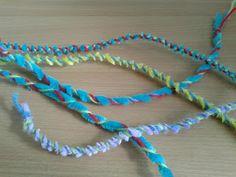 Flame: Creative Children's Ministry: Fruit of the Spirit Kindness Craft: Friendship Bracelets