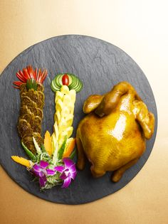Dynasty Feast's Tea-Smoked Soy Chicken from Summer Palace, Regent Singapore #asian #cantonese #cuisine