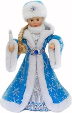 Кукла Новогодняя сказка Снегурочка 971433 — купить в Сотмаркете