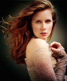 Amy Adams. Loved her in Enchanted and The Muppets. She's just so classy!