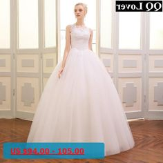 QQ Lover 2018 New High Quality Lace Wedding Dress Beautiful Appliques Vestido De Noiva Wedding Gown
