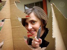 @Caitlin Way: cardboard trees = yes!