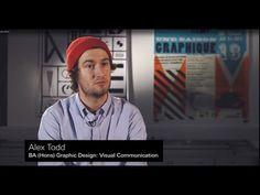 Alex Todd, BA (Hons) Graphic Design: Visual Communications - YouTube