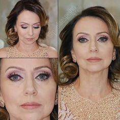 Maquillaje para mujeres adultas con piel blanca.