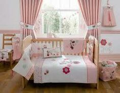 Minnie Mouse Crib Bedding Set for Baby - Personalizable | Bedding ...