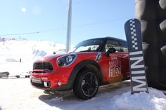 MINI Countryman was slopeside with the snowboarders for the Burton High Fives in New Zealand.