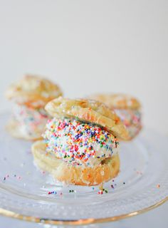 These ice cream filled pastries are sure to be a hit at any party or get together