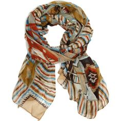Bucasi Southwestern Aztec Navajo Style Inspired Layering Scarf