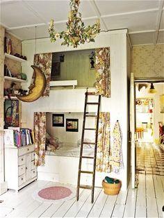 Bohemian bedroom by Seeing