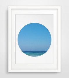 Ocean Photography Ocean Wall Print Ocean by MelindaWoodDesigns #Oceanprint #beachdecor
