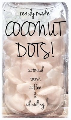 For Dogs & their Humans: Toss one in your dogs food daily to help dry itchy skin and inflammation. Oil Pulling, Health And Wellness, Health And Beauty, Do It Yourself Decoration, Coconut Oil Uses, Natural Healing, Health Remedies, Healthy Tips, Just In Case