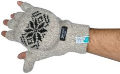 Great unisex gloves with cut fingers and mitten flap. Thumb has a slit in it for easy texting. These gloves are lined with super soft and warm 3M Thinsulate lining. Trusted warmth from a brand you know. Traps and holds body heat. Great for any winter activity where you need quick access to your fingers and yet be comfortable and warm.