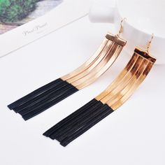 Find More Information about  Fashion Dangle Earring Super Extra Long Design Vintage Tassel Earring Drop Dangle Earring 15cm,High Quality earings,China earrings nose Suppliers, Cheap earrings ribbon from Fashion Smile-Enjoy Your Life on Aliexpress.com