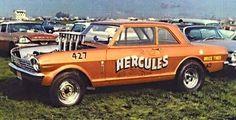 Vintage Drag Racing - Hurcules - Chevy II Nova