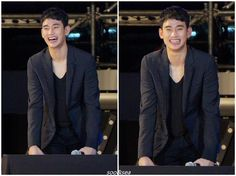 """awesome Kim Soo Hyun - New photos in good quality with """"LOTTE FAMILY CONCERT"""" which was held September 4 in Busan (07/08/2015)"""