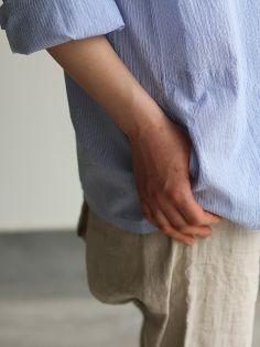 Slip on blouse/MOP pants 4
