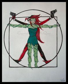 @Rebecca Dezuanni Keenan poison quinn | Poison Ivy and Harley Quinn by ~artsaves1228 on deviantART