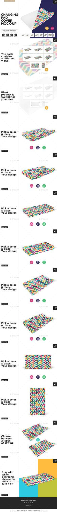 Changing Pad Cover #Mock-up - Miscellaneous Apparel