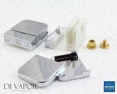 Plastic Glass Shower Door Pivot Hinge for 6mm Glass