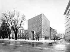 Barozzi / Veiga — Erweiterung Bündner Kunstmuseum Chur
