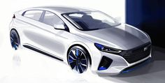 The #Hyundai Ioniq hybrid is the Korean carmakers answer to the Toyota Prius
