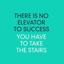 To Reach Success It Takes More Than Just a Few Steps.