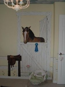 For London's room?  Not sure if another horse would 'fit' in her room or not!