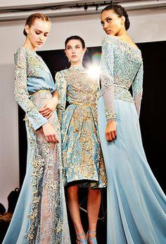Backstage Elie Saab Haute Couture Winter 2012